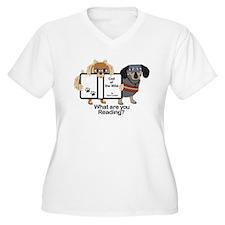 Dog Best Friends Plus Size T-Shirt