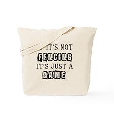 Fencing Designs Tote Bag