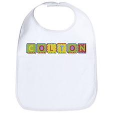 Colton Foam Squares Bib