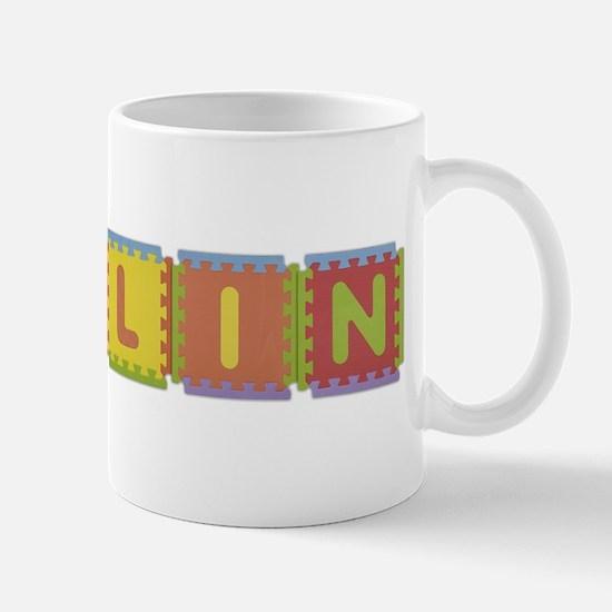 Collin Foam Squares Mug