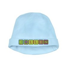 Collin Foam Squares baby hat