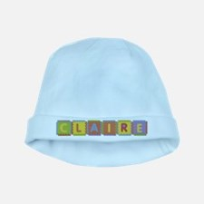 Claire Foam Squares baby hat