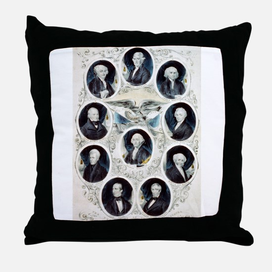 The Presidents of the United States - 1842 Throw P