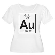 Element 79 - Au (gold) - Full Plus Size T-Shirt