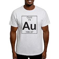 Element 79 - Au (gold) - Full T-Shirt
