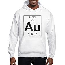 Element 79 - Au (gold) - Full Hoodie