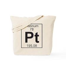 Element 78 - Pt (platinum) - Full Tote Bag
