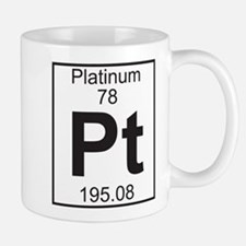 Element 78 - Pt (platinum) - Full Mug