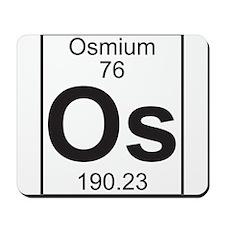 Element 76 - Os (osmium) - Full Mousepad