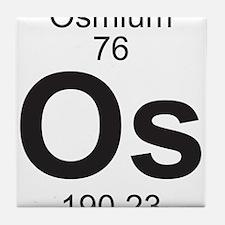 Element 76 - Os (osmium) - Full Tile Coaster
