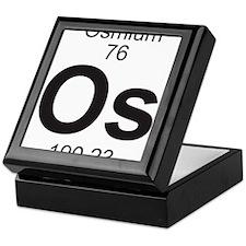 Element 76 - Os (osmium) - Full Keepsake Box