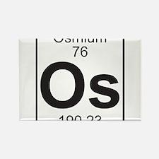 Element 76 - Os (osmium) - Full Rectangle Magnet