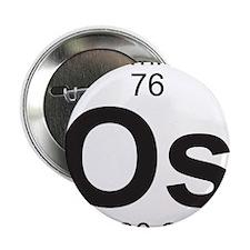 """Element 76 - Os (osmium) - Full 2.25"""" Button"""