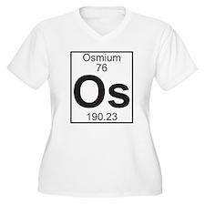 Element 76 - Os (osmium) - Full Plus Size T-Shirt