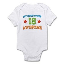 My Godfather Is Awesome Infant Bodysuit