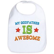 My Godfather Is Awesome Bib