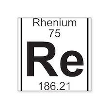 Element 75 - Re (rhenium) - Full Sticker