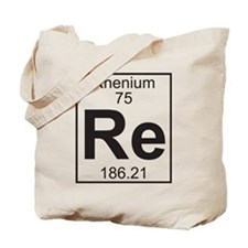 Element 75 - Re (rhenium) - Full Tote Bag