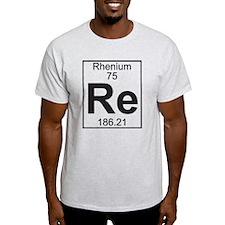 Element 75 - Re (rhenium) - Full T-Shirt