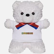 Bryson Foam Squares Teddy Bear