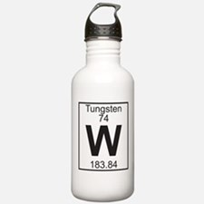 Element 74 - W (tungsten) - Full Water Bottle