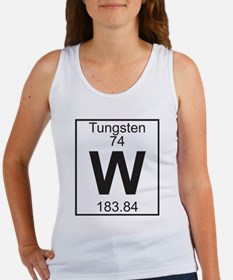 Element 74 - W (tungsten) - Full Tank Top