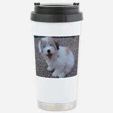 Cute Dog Stainless Steel Travel Mug