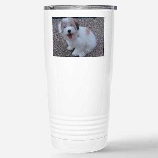 Cute Dog Stainless Steel Travel Mug