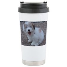 Cute Dog Travel Coffee Mug