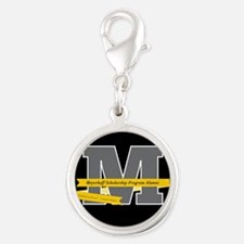 M Logo With Langston Hughes Quote Charms