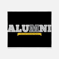 Meyerhoff Alumni Horizontal Throw Blanket