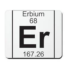 Element 68 - Er (erbium) - Full Mousepad