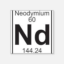 Element 060 - Nd (neodymium) - Full Sticker