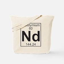 Element 060 - Nd (neodymium) - Full Tote Bag