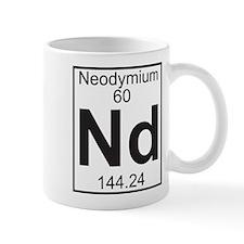 Element 060 - Nd (neodymium) - Full Small Mug