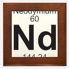 Element 060 - Nd (neodymium) - Full Framed Tile