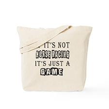 Horse Racing Designs Tote Bag