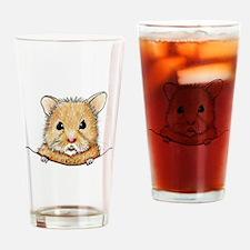 Pocket Hamster Drinking Glass