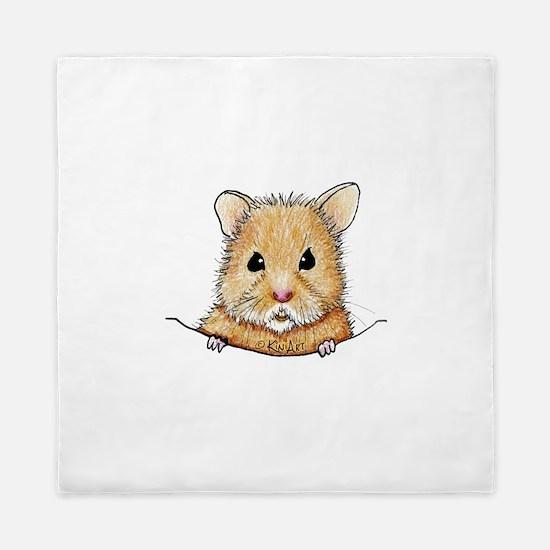 Pocket Hamster Queen Duvet