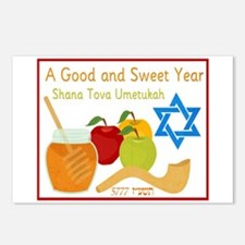Healthy New Year Postcards (Package of 8)