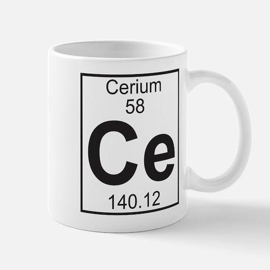 Element 058 - Ce (cerium) - Full Mug