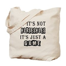 Horseshoes Designs Tote Bag