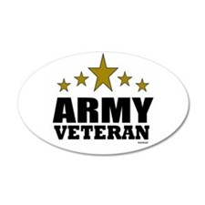Army Veteran Wall Decal