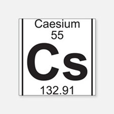 Element 055 - Cs (caesium) - Full Sticker