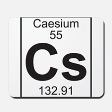 Element 055 - Cs (caesium) - Full Mousepad