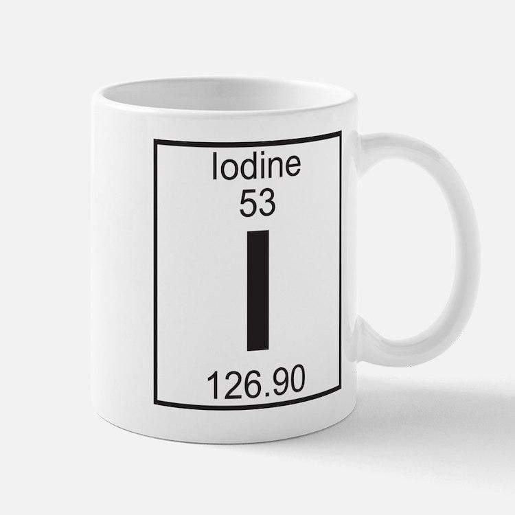 Element 053 - I (iodine) - Full Mug