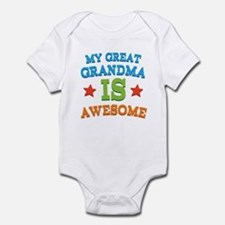 My Great Grandma Is Awesome Infant Bodysuit