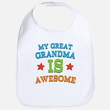 My Great Grandma Is Awesome Bib