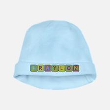 Braylon Foam Squares baby hat