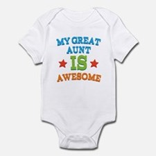 My Great Aunt Is Awesome Onesie